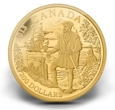 2013-200-Jacques-Cartier-Gold-Coin