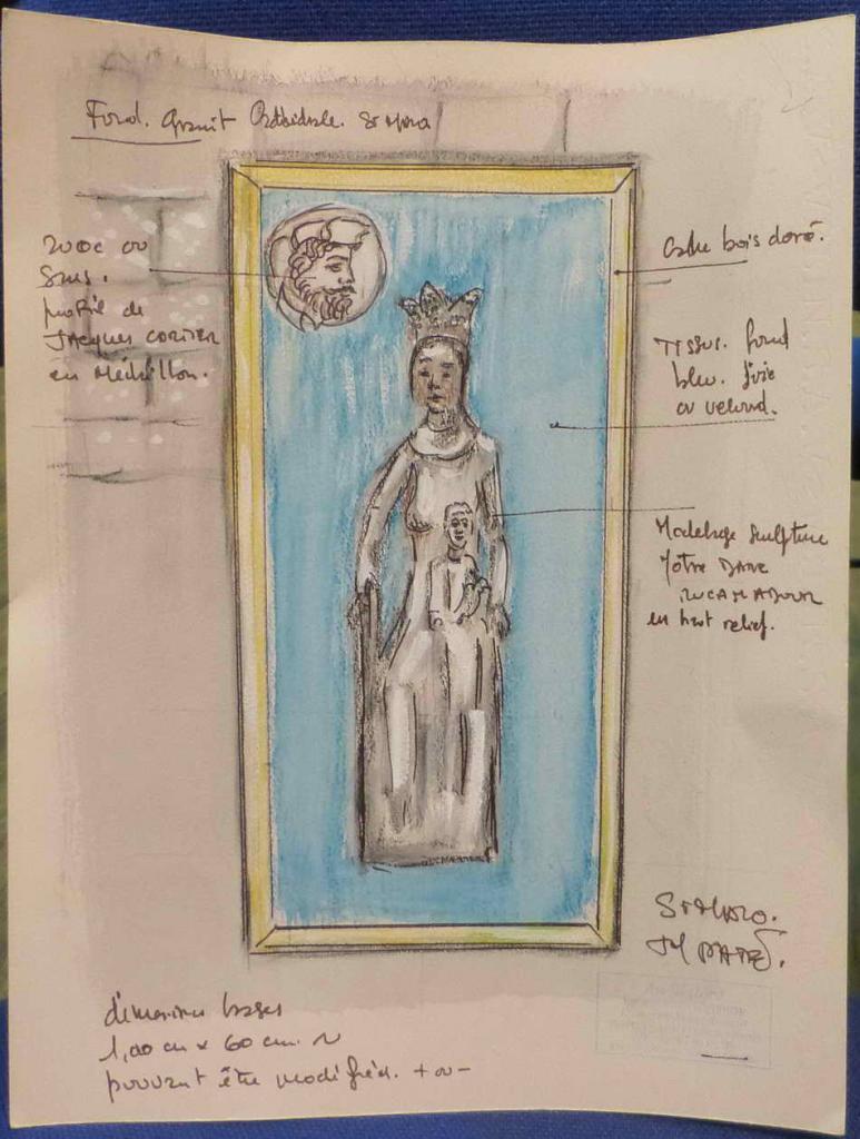 ADFJCC 25 aout 2013_13 projet de Vierge de Rocamadour