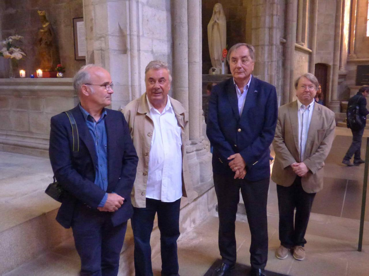 Bénédiction de la vierge de Rocamadour Août 2017