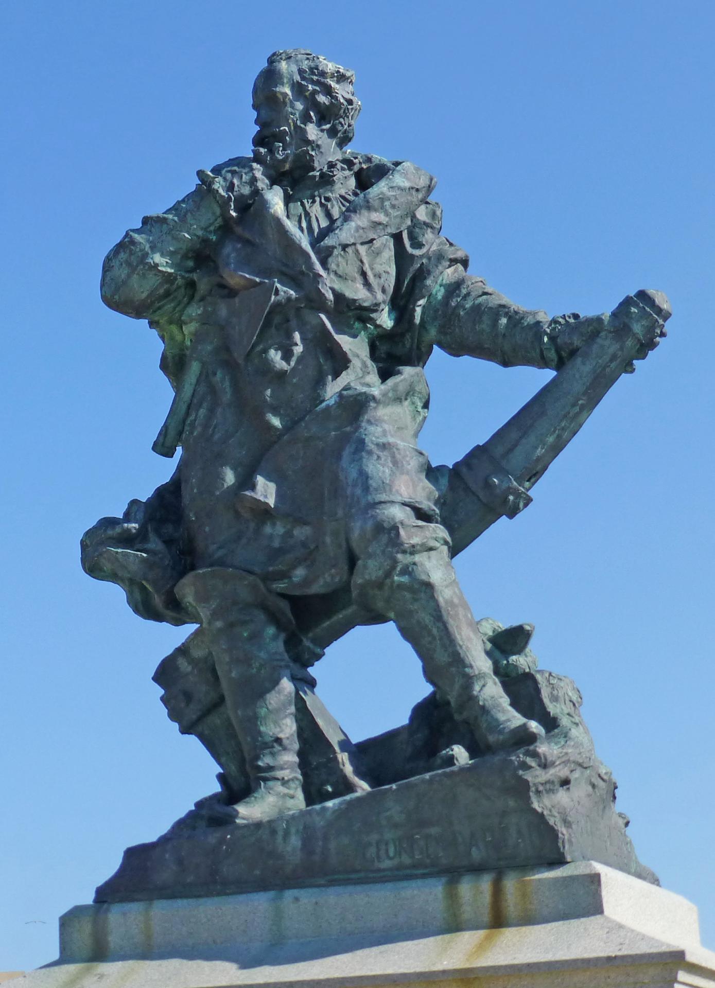 Statue de Jacques CARTIER
